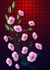 Çiçekler  ( renkli pano )