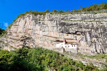 Hermitage of Saint Columban. Rovereto, province of Trentino-Alto