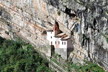 Hermitage of Saint Columban. Bolzano, Italy