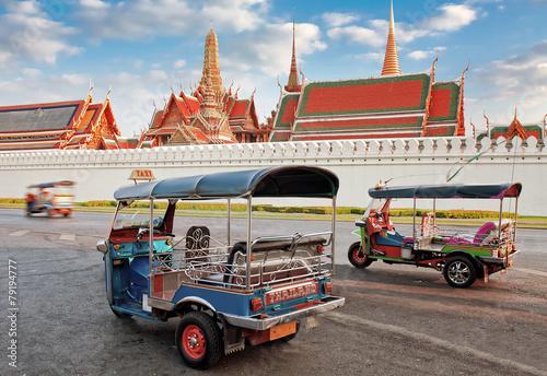 canvas print picture Tuk Tuk taxi