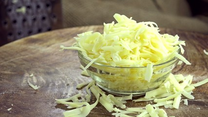 Portion of grated Cheese (loopable)