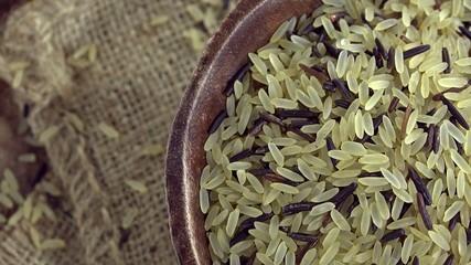 Raw mixed Rice (seamless loopable)