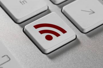 tasto, tasto pc, wireless, connessione, rete