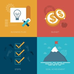 vector business success concept illustration
