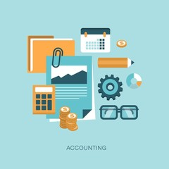 accounting concept illustration