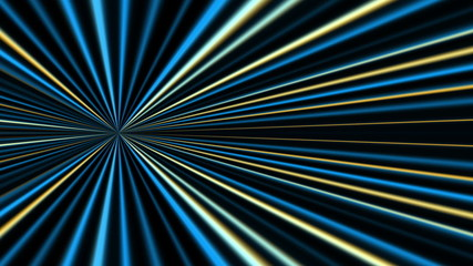 abstract loop motion background, blue light