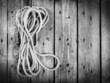 Rope Black and White
