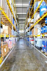 Warehouse corridor