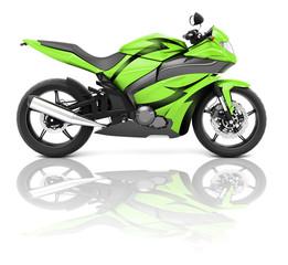 Motorcycle Motorbike Vehicle Transport Tranportation Concept
