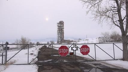 Secret Millitary Old Factory Base