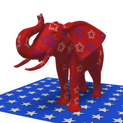 Republican Elephant.