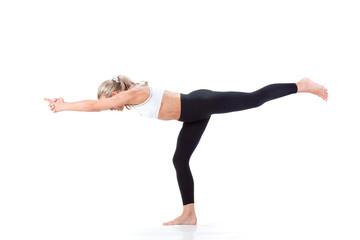 Sport Series: yoga. Soldier Position 1