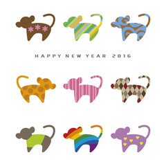 New year Card 2016