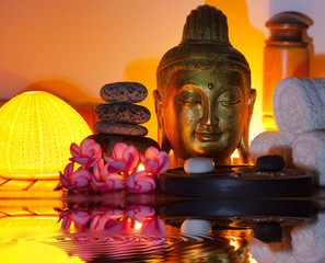 bouddha doré, concept institut de massage