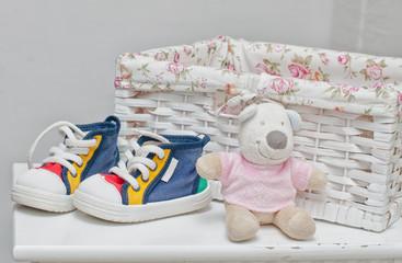 Tiny sneakers