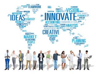 Innovation Inspiration Creativity Progress Innovate Concept