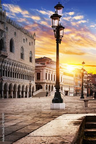 Fototapety, obrazy : Saint Mark square Venice