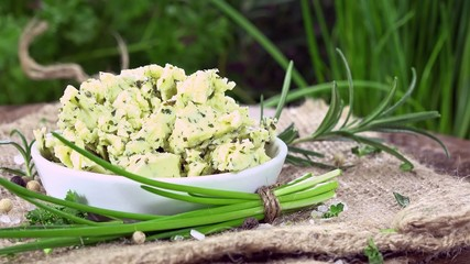Fresh made Herb Butter (loopable)