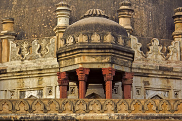 Detail of the old mausoleum