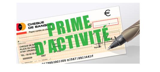 prime d'activité - RSA