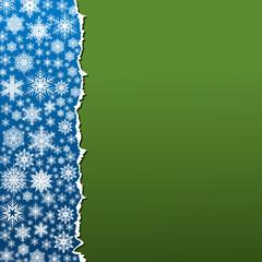 snowflakes card