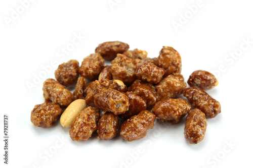 Canvas Snoepjes cacahuètes grillées