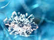 snowflake crystal natural snow - 79212341