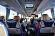 Leinwanddruck Bild - Voyage en autocar