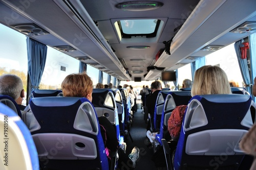 Voyage en autocar - 79213508