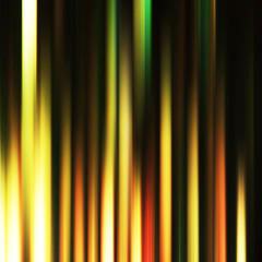 Dark shiny abstract background made of stripes in dark and yello