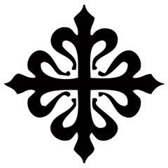 Emblema Orden Militar Caballeros Templarios