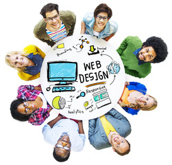 Content Creativity Digital Layout Webdesign Webpage Concept
