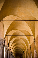 Archway in Bologna, Italy