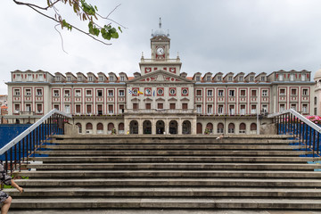 Town Hall Square Ferrol, Galicia, Spain