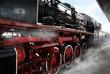 Old locomotive wheels - 79221154