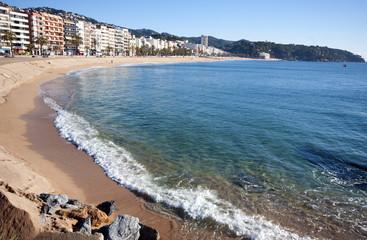 View of Lloret de mar.Catalonia,Spain