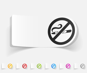 realistic design element. no smoking