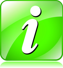 green informations icon