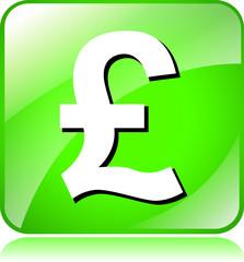 green pound icon