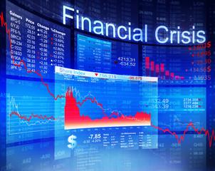 Financial Crisis Economic Stock Market Banking Concept