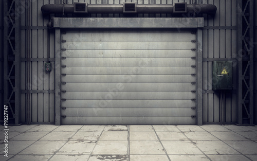 warehouse loading dock inside