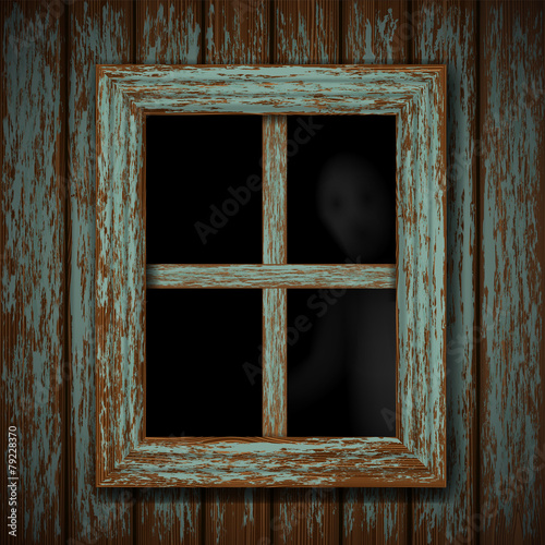 Ghost in the window - 79228370
