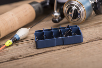 Fishing rod and reel