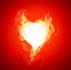 Burning Love Background