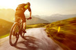 Mountainbike in the Mountains