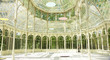 Leinwanddruck Bild - Interior del palacio de cristal en el Retiro de Madrid