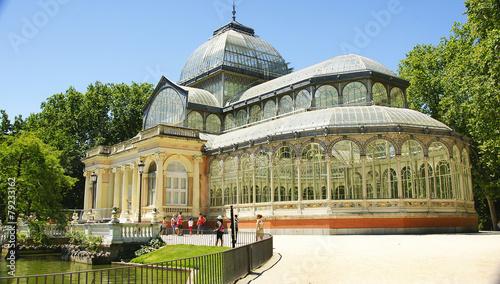 Palacio de cristal en el Retiro de Madrid - 79233162