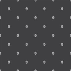 fingerprint, vector seamless pattern .