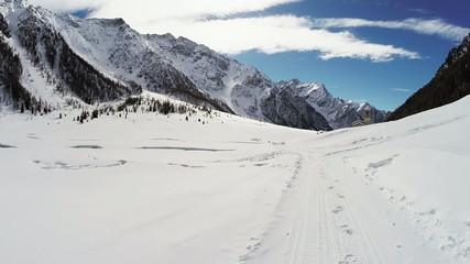 Val di Rezzalo - Bormio (IT) - panorama invernale