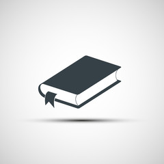 Vector icon of the book
